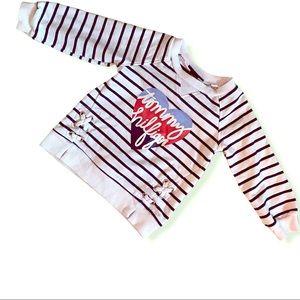 Tommy Hilfiger girls sweatshirt Sz 12 months